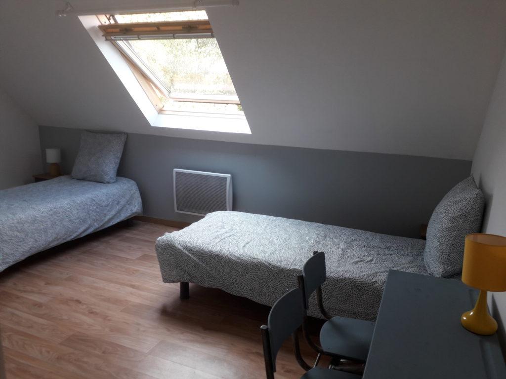 Chambre grise - Etage