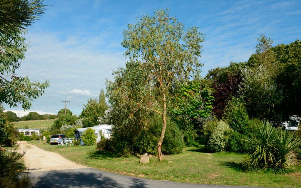 Camping Pouldreuzic, emplacements tentes et caravanes