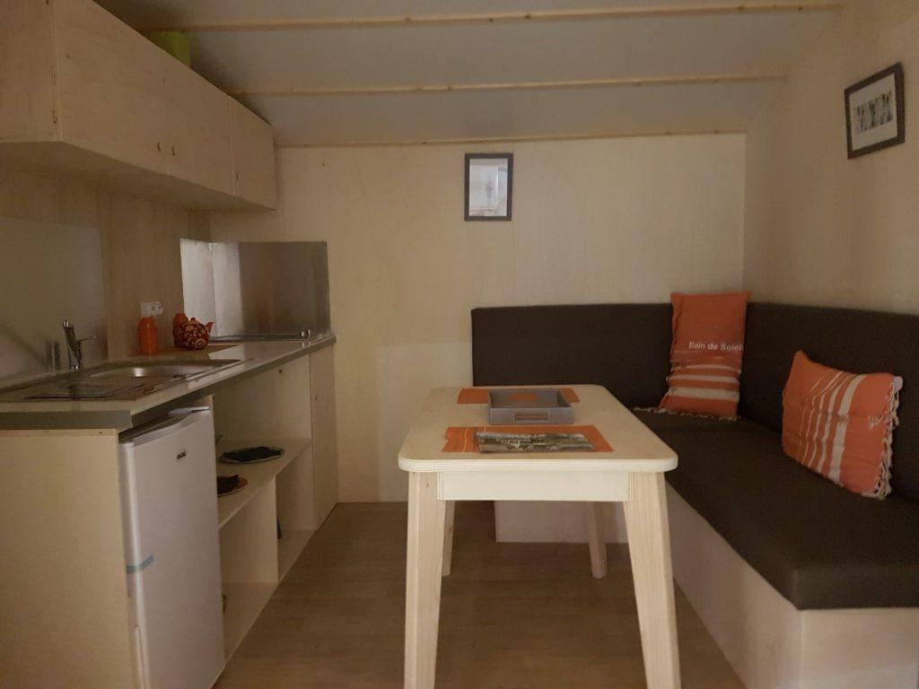 location mobil-home Elite toile et bois